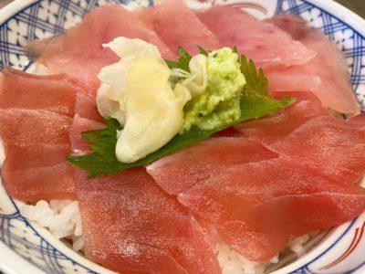 磯丸水産溝の口駅前店ランチ2色丼